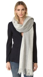Acne Studios Canada Bengal Scarf Natural White Grey