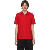 Burberry Red Eddie Mj Wear Polo