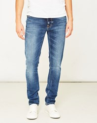 Nudie Jeans Co Lean Dean Deep Dark Indigo Blue