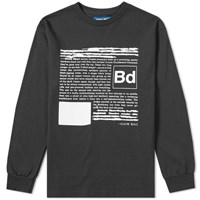 Know Wave X Black Dice Long Sleeve Everyone's A Critic Tee