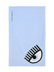 Chiara Ferragni Flirting Eye Cotton Beach Towel