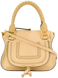Chloe Marcie Tote Bag Yellow And Orange