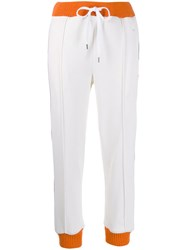 Marni Contrast Stripe Track Pants White