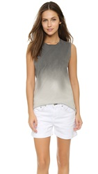 Rag And Bone Muscle Tank Grey Ombre