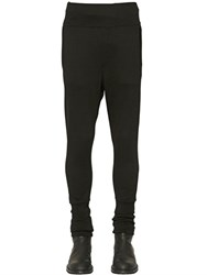 Ann Demeulemeester Cotton Blend Jersey Jogging Pants