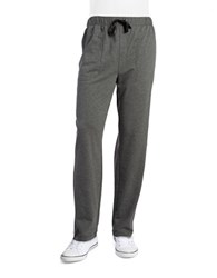 Nautica French Terry Lounge Pants Charcoal