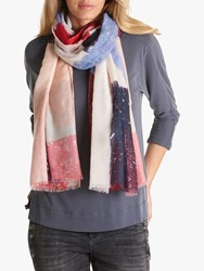 Betty Barclay Paint Speckle Print Scarf Multi