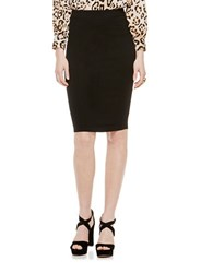 Vince Camuto Stretch Pencil Skirt Rich Black