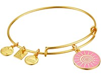 Alex And Ani Charity By Design Spiral Sun Expandable Charm Bangle Bracelet Shiny Gold Charms Bracelet Metallic