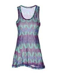 See By Chloe See By Chloe Sleeveless T Shirts Purple