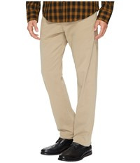 Ag Adriano Goldschmied Graduate Tailored Straight Sueded Stretch Sateen Khaki Men's Casual Pants