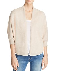 Bloomingdale's C By Lightweight Cashmere Cocoon Cardigan 100 Exclusive Light Oatmeal