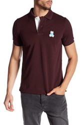 Psycho Bunny Cayman Pima Cotton Polo Purple