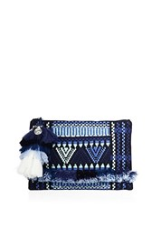 Figue Sangita Zip Pouch Blue