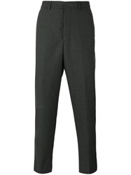 Ami Alexandre Mattiussi Carrot Fit Trousers Men Virgin Wool 36 Grey
