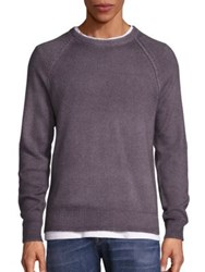 Vince Wool And Cashmere Blend Sweater Smokey Grey