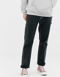 Volcom Whaler Utility Trousers In Black