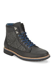 Original Penguin Rugged Hiker Boots Black