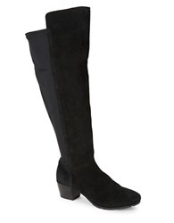 Kenneth Cole Reaction Philosophy Suede Boots Black