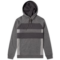Folk Panel Hoody Grey