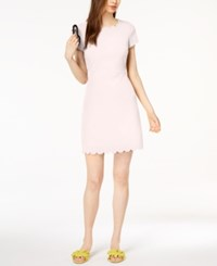 Maison Jules Scalloped Fit And Flare Dress Created For Macy's Pink Lily
