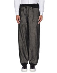 John Galliano Trousers Casual Trousers Men Steel Grey