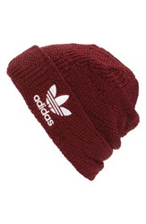 Adidas Men's Cuffed Beanie Burgundy Collegiate Burgundy
