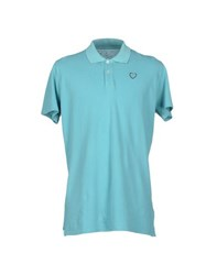 Pepe Jeans Topwear Polo Shirts Men Turquoise