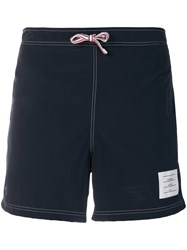 Thom Browne Deck Shorts Blue