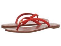 Tory Burch Terra Thong Radient Apple Women's Sandals Red