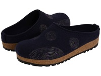 Haflinger Spirit Navy Women's Clog Shoes