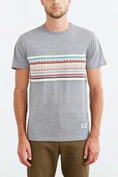 Penfield Panola Knit Pocket Crew Neck Tee Grey