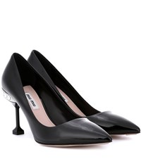 Miu Miu Patent Leather Pumps Black