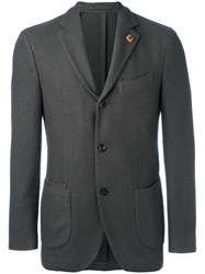 Lardini Two Button Blazer Grey