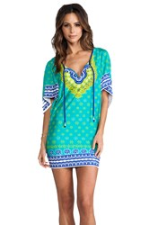 Trina Turk Seychelles Tunic Cover Up Green