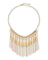 Jules Smith Designs Jules Smith Pearly Chain Fringe Necklace Women's