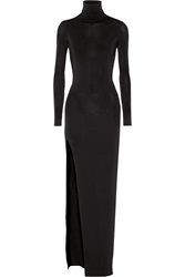 Elizabeth And James Lana Stretch Jersey Turtleneck Maxi Dress