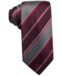 Countess Mara Melange Stripe Tie Red