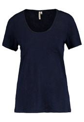 Banana Republic Basic Tshirt Navy Dark Blue
