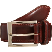 Harris Chiaro Leather Belt Chocolate