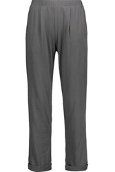 Skin Wearever Pima Cotton Jersey Pajama Pants Anthracite
