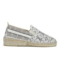 Prism Women's Espadrilles Natural Snakeskin Grey