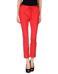Elizabeth And James Casual Pants Red
