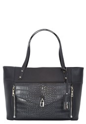 Hallhuber Faux Leather Two In One Handbag Black