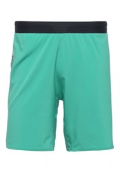 Reebok Crossfit Super Nasty Speed Sports Shorts Neon Pacific Turquoise