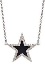 Jennifer Meyer Women's Star Charm Necklace Colorless