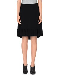 Jo No Fui Skirts Knee Length Skirts Women Black