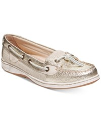 Sperry Dunefish Boat Shoes Women's Shoes Gold