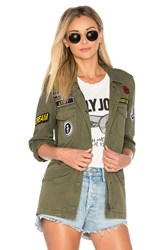 Velvet By Graham And Spencer Andreea Military Jacket Army