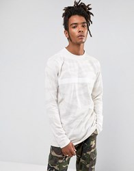 Cayler And Sons Long Sleeve T Shirt In Stone Camo Stone